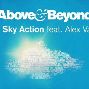 Above & Beyond feat. Alex Vargas – Blue Sky Action (Cover Art)