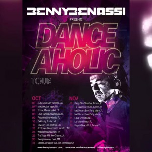 Benny Benassi – Danceaholic Tour Mini-Mix