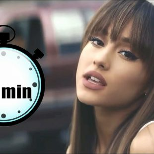 2 MINUTES WITH ARIANA GRANDE