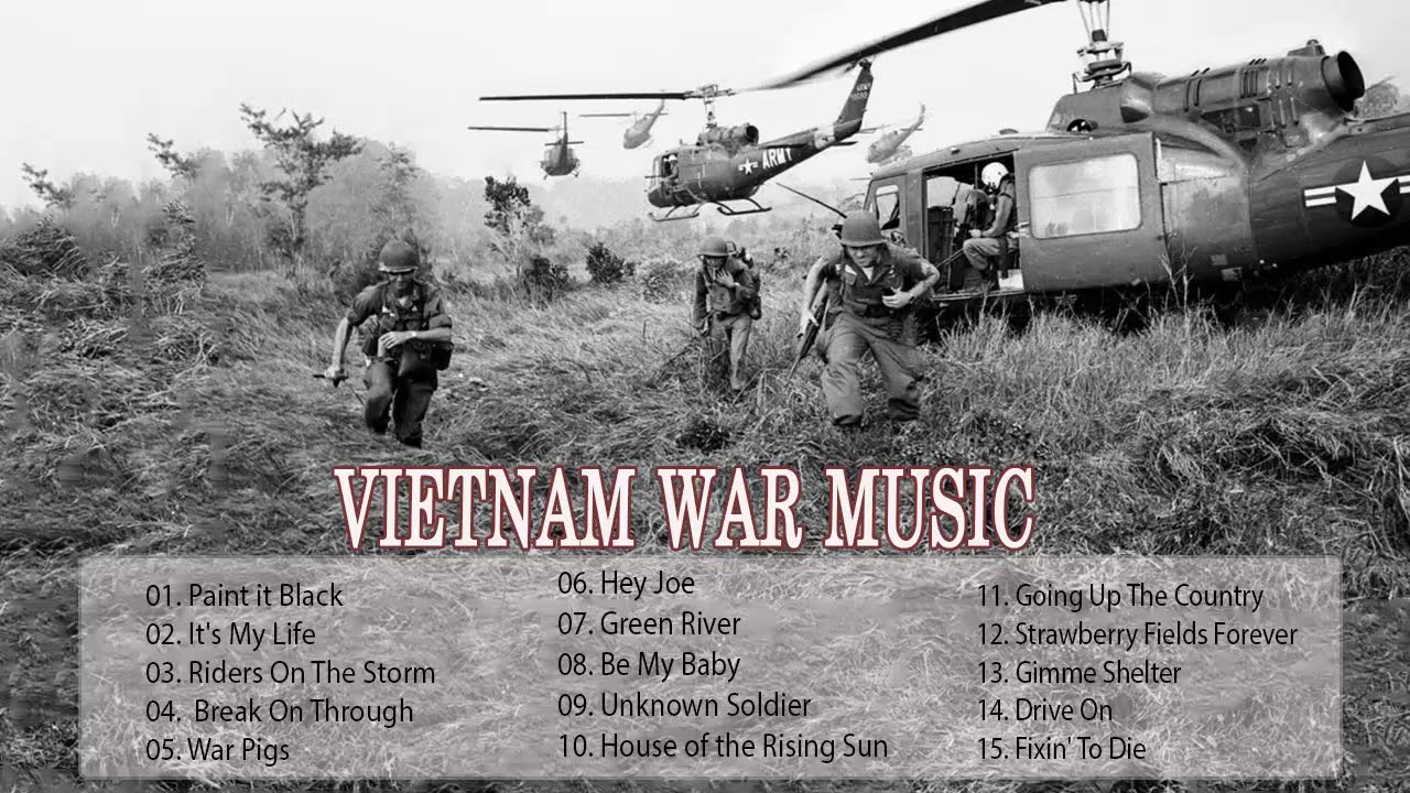 Best Rock Songs Vietnam War Music | Best Rock Music Of All Time