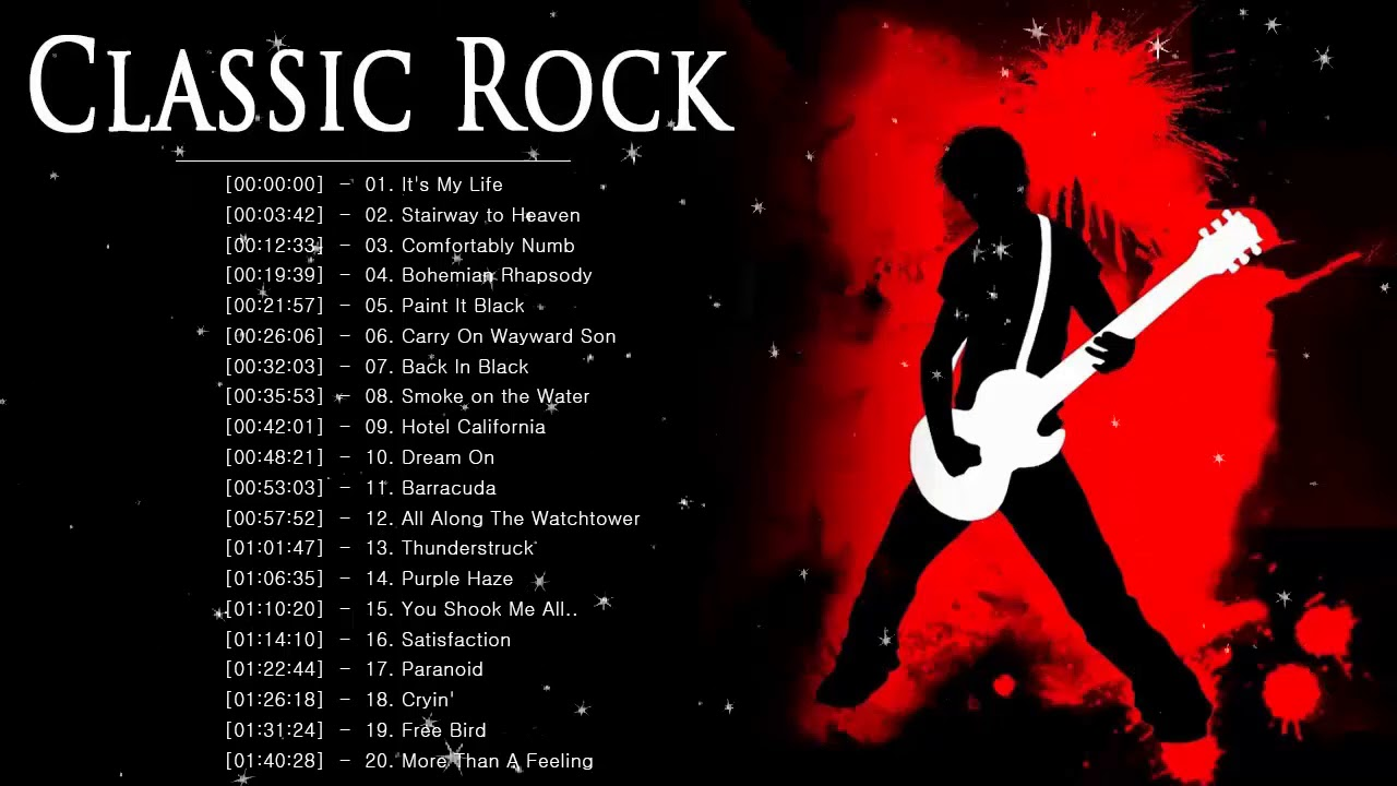 Top Classic Rock Songs – Best Of Classic Rock Song 70s 80s